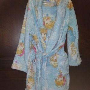 Little girls Disney Anna and Elsa bathrobe
